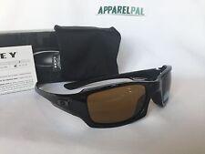 New Oakley Fives Squared Sunglasses POLARIZED Polish Black/Bronze Authentic MPH