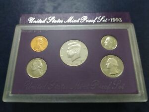 United States Mint Proof Set 1992
