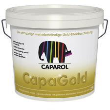 Caparol Capadecor CapaGold 5 Liter -seidenglänzend mit goldenem Metalleffekt-
