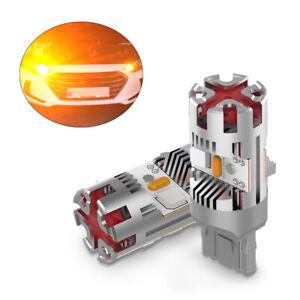 Qty2 Vehicle Led Reverse Signal Lights Bulb T20 3156 3056 For Audi A4 2009-2012
