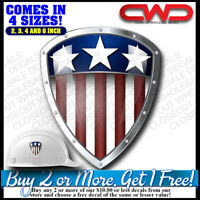 USA Shield Patch Decal Sticker Car truck Laptop Phone Cool Awesome 500215