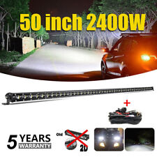 50''inch LED Work Light Bar Combo Truck Offroad SUV Boat Driving For Jeep 52''
