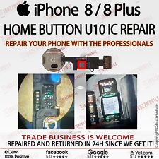 iPhone 8  8 Plus + FAULTY HOME BUTTON ERRATIC U10 IC REPLACEMENT REPAIR SERVICE