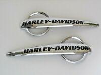 Harley Davidson Tankschilder Tankembleme Tank Embleme 14100892 & 14100893