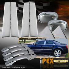 2004-2010 Chrysler 300 300C Chrome Door Handle + Mirror Covers + Door Post Trim