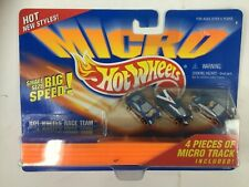 Hot Wheels Micro Hit Wheels Race Team 1995 Rare New On Card