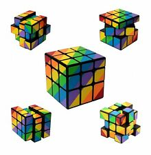Pocket Travel Twisty Puzzle Game 3D Magic Cube 3x3 Irregalur Shape Rainbow