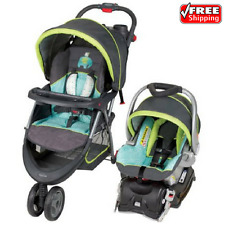 Baby Trend EZ Ride 5 Stroller Travel System Woodland Buggy With Infant Car Seat