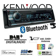 Kenwood KDC-X7100DAB  DAB+ | Bluetooth 2x USB iPhone / Android - Autoradio Radio