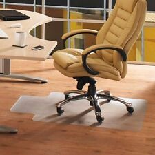 "48"" x 36"" PVC Home Office Chair Floor Mat For Wood Tile 1.5mm Thickness"