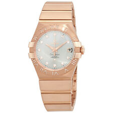 Omega Constellation Silver Dial Automatic Ladies Watch 123.55.35.20.52.003