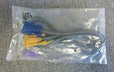 Nuevo cable de conmutador KVM VGA de 15 pines macho a VGA 15 Pin Macho PS2/USB