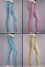 Damenhosen aus Baumwolle mit niedriger Bundhöhe