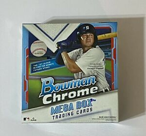 2021 Bowman Chrome Baseball Mega Box NEW! FACTORY SEALED