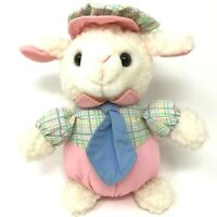 Vintage 1995 Fordlet Lamb Sheep 7 inches Plush Stuffed Animal Toy VERY RARE