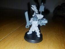 Warhammer Forgeworld Grey Knights Space Marine Techmarine with chainsword