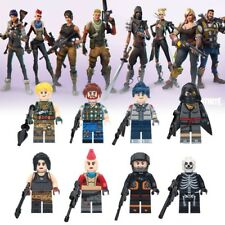 8Pcs/set Fortnight Custom Minifigure fortnite mini figures LEGO