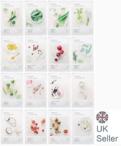 Korean skincare Innisfree My Real Squeeze sheet face mask Moisturising UK Seller
