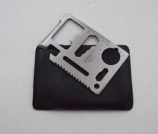 BBT Brand Credit Card Stainless Steel Multi Tool with Case