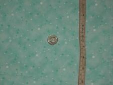 """Aqua cotton fabric polka dot abstract quilting multi use material 1Yd 28"""""""