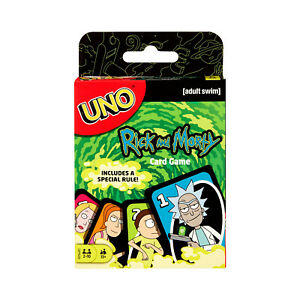 Rick And Morty Uno The Card Game NEW IN STOCK