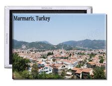 Marmaris Turkey Town Roof Tops - Souvenir Fridge Magnet