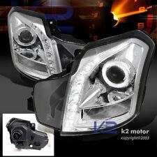 03-07 Cadillac CTS/CTS V Halo Projector Headlights+SMD LED DRL