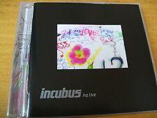 INCUBUS HQ LIVE CD+DVD  MINT-