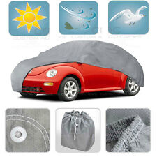 Medium Car Cover MAX Auto Protection Sun Dust Proof Outdoor Indoor Breathable