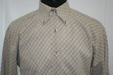 Mens Tommy Hilfiger Shirt Size sz L Large Long Sleeve Flip Cuffs