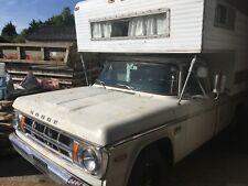 1969 Dodge D200 Camper V8 pickup truck Low mileage Motorhome hotrod