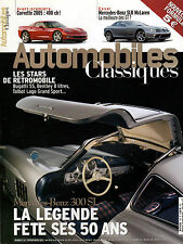 REVUE MAGAZINE AUTOMOBILES CLASSIQUES N°136 02/03 2004 MB SLR MCLAREN MB 300 SL