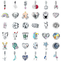 VOROCO 925 Sterling Silver Charms Various Kinds of Cute And Adorable DIY Charms