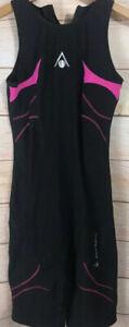 Black Aqua Sphere Swimsuit Nylon Elastane 34/8 Pink NWOT