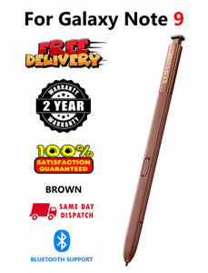 S Pen For Samsung Galaxy Note 9 Replacement Bluetooth Pencil New Original BROWN