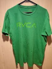 RVCA The Balance of Opposites Graphic Tee T Shirt Ruca Green