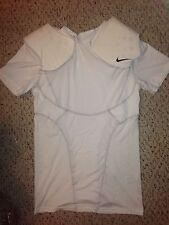 NEW Nike Pro Combat Fit Dri Base Layer Shoulder Padded Football Shirt *XL*