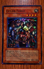 "Yugioh Holo LOD-023  ""Exiled Force""  Played-EX"