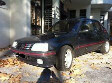 Pare Chocs Avant Peugeot 205 CTI, GTI (Inclus Liseraie Alu. Rouge) Neuf !