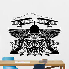 War Wall Decal Military Vinyl Sticker Tank Army Art Poster Playroom Decor 84xxx