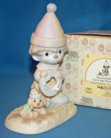 Precious Moments Figurine 012467 ln box The Lord Will Carry You Through