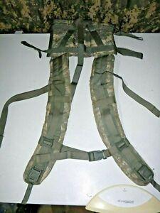 USGI ACU Molle II Large Rucksack Enhanced Shoulder Straps (NO QUICK RELEASE)