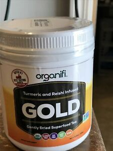 organifi gold 6.98 Oz Safety Sealed Exp 7/21