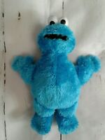 Sesame Street Cookie Monster Soft Plush Toy Stuffed Animal Hand Held Size