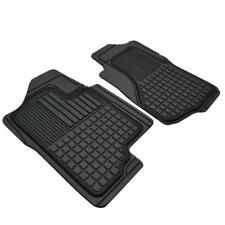 Precise 3D Custom Trim Front Floor Mats - All Weather Rubber Protection  (2pc)
