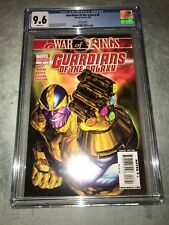 RARE GUARDIANS OF THE GALAXY #8 THANOS INFINITY GAUNTLET VARIANT CGC 9.6