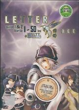 DVD Letter Bee S1+S2+special VOL.1-50END DVD