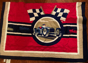 Circo Vintage Racing Car TWIN Quilt Red Blue White Target