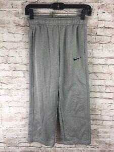 Nike Thermai-Fit Gray Casual Sweatpants - Boys Youth Medium