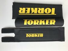 Torker Bmx Pad Set Black Oldschool REPOP Tange Koizumi  PK Ripper Kuwahara Y